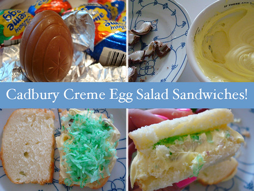 Cadbury Creme Egg Salad