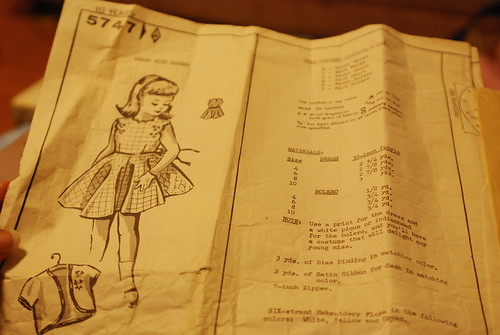 83 vintage child's pattern