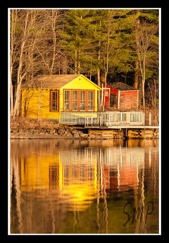 Again With the Boathouse by UpstateNYPhototaker