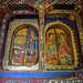 Coptic Orthodox Christian painting inside a monastery on lake tana, Ethiopia