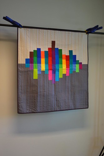 Judges' Choice Winner, Ann Arbor Modern Quilt Guild Kona Challenge