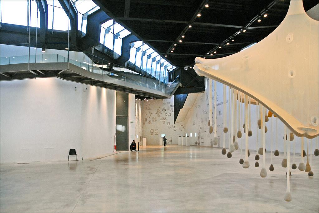 A l'intérieur du Macro à Rome, musée d'art contemporain municipal - Photo de Jean Pierre Dalbéra