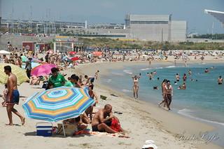 Зображення Platja de la Nova Mar Bella поблизу GTD. pictures barcelona mar diagonal suitelifecom