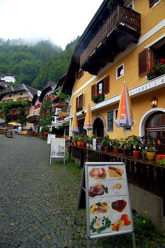Marktplatz, Hallstatt, Austria 奧地利 哈修塔特 馬克廣場