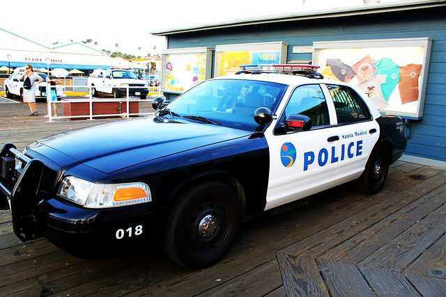 Santa Monica Police Car Flickr Photo Sharing