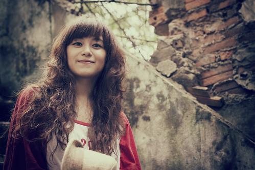 [フリー画像素材] 人物, 女性 - アジア ID:201208011800