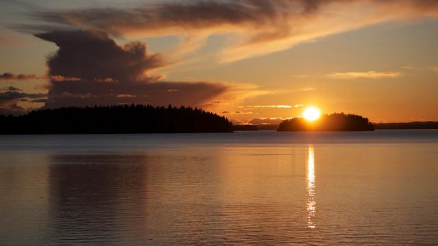 Saturday sunset II