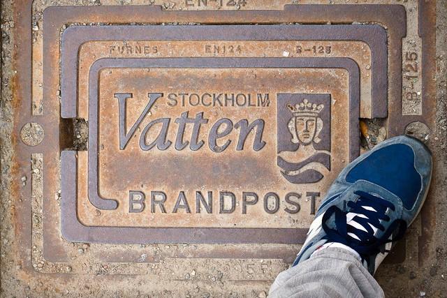 Pisar alcantarillas, Suecia