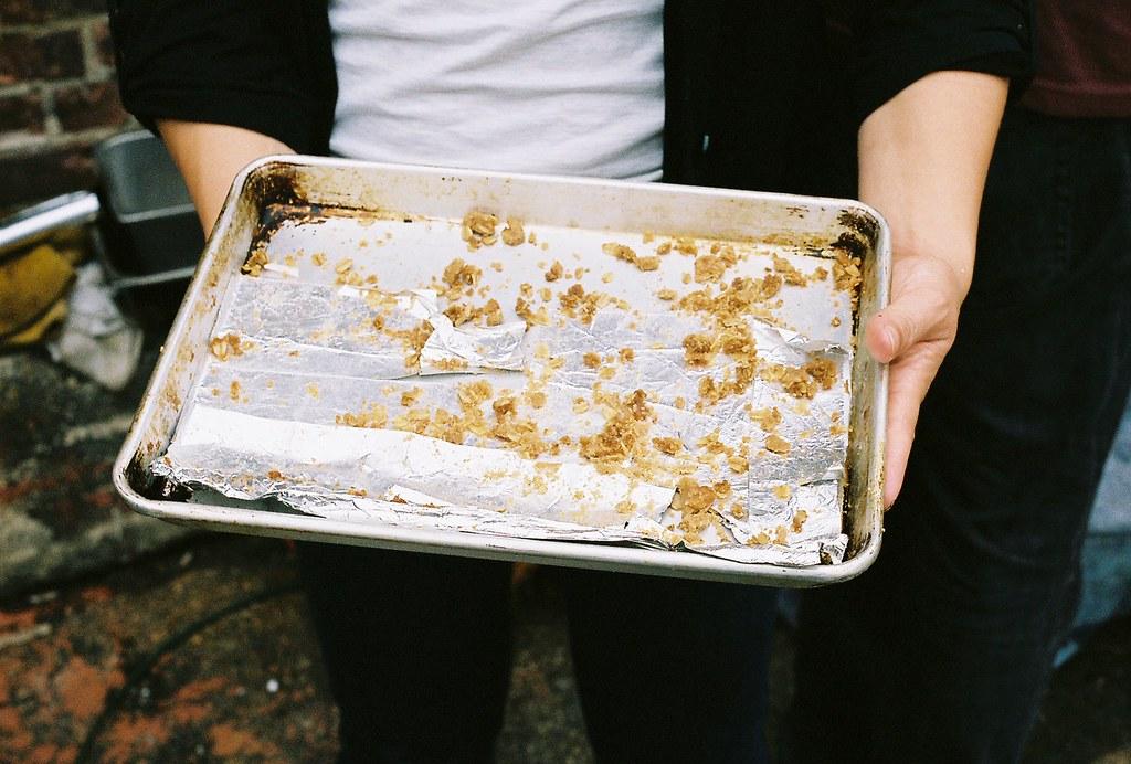 brown butter apple pie bars