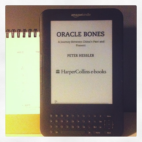 Oracle Bones, the Book