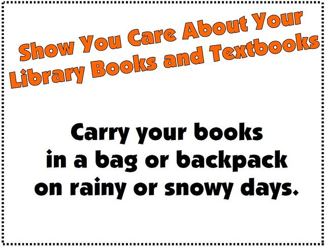 Books in Bags and Backpakcs