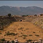 Attēls no Aphrodisias. turkey ancient ruins roman stadium turkiye romano estadio ruinas empire turquia aphrodisias aydin imperio afrodisias geyre
