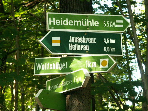 Heidemühle, Wolfshügel, Mordgrundbrücke, Dresdner Heide
