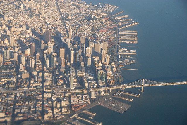 bay bridge and san francisco from the air flickr. Black Bedroom Furniture Sets. Home Design Ideas