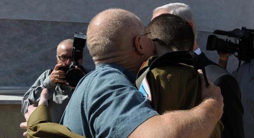 After Over Five Years: Gilad Shalit Reunites With His Father