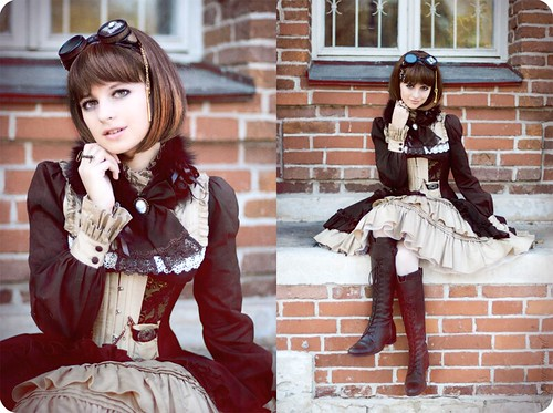 Steampunk Doll ~ Autumn