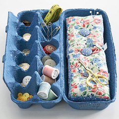 Sewing Egg Carton