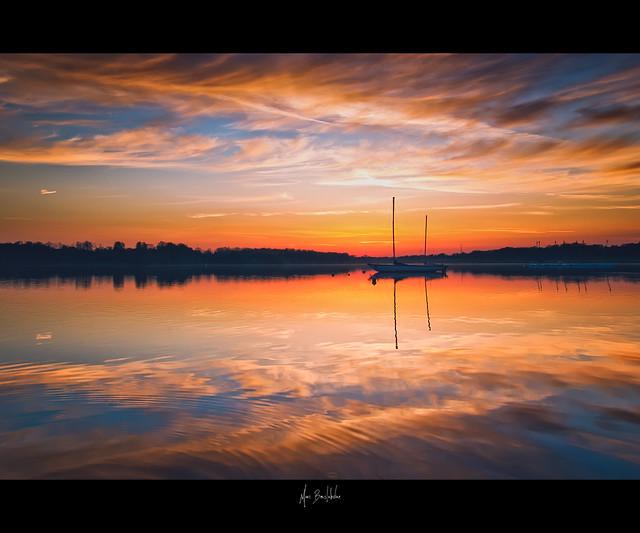 Reflexion aquatique