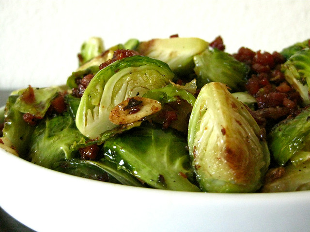 naglee park garage-style brussels sprouts