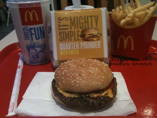 Quarter Pounder with Cheese - McDonald's UK