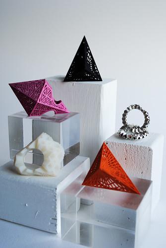 Various 3D prints
