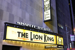 Lion King @ Minskoff Theatre on Broadway