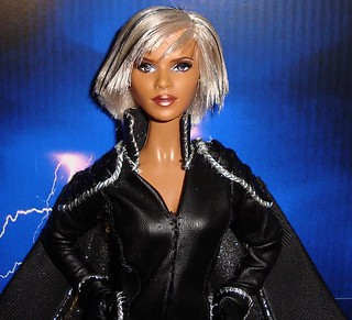 Custom storm x-men doll