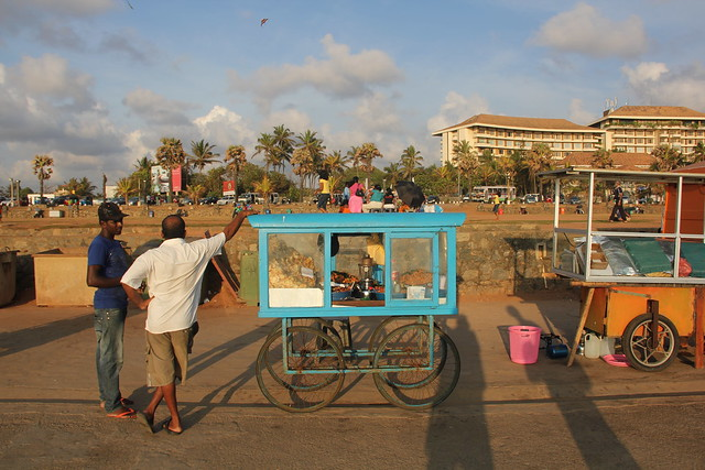 Street Cart, Colombo, Sri Lanka