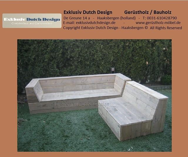 Gartenmobel Trends Ostermann : Bauholz Lounge bank6wwwgerüstholzmöbeldeexklusivdutchdesign