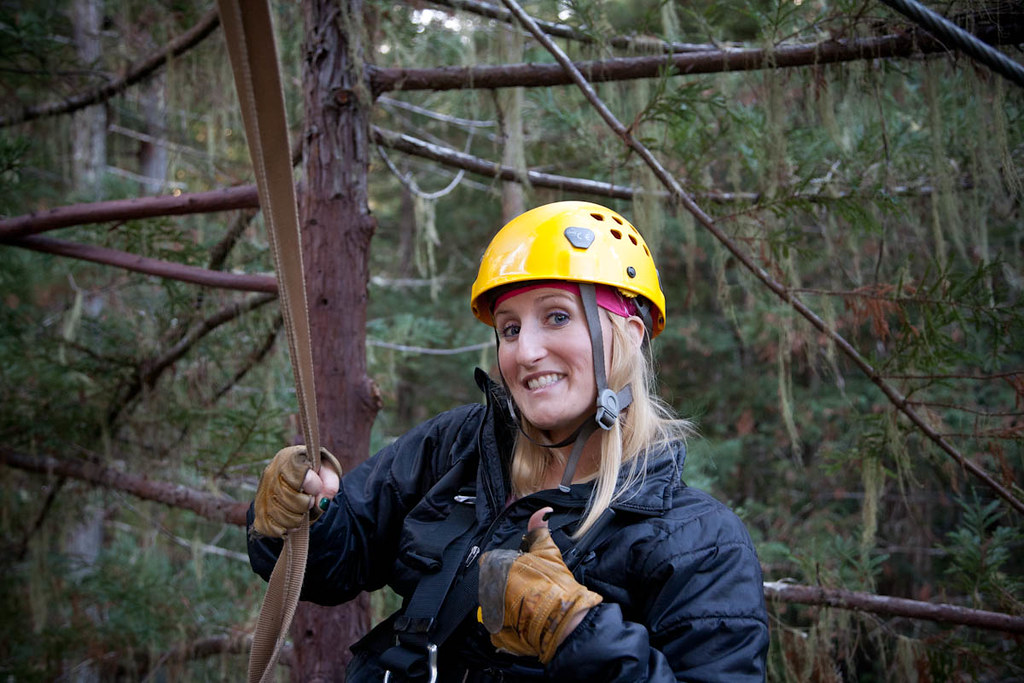 Alexis, our Sonoma Canopy Tours Guide