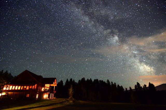 night sky at great bear inn montana flickr photo sharing