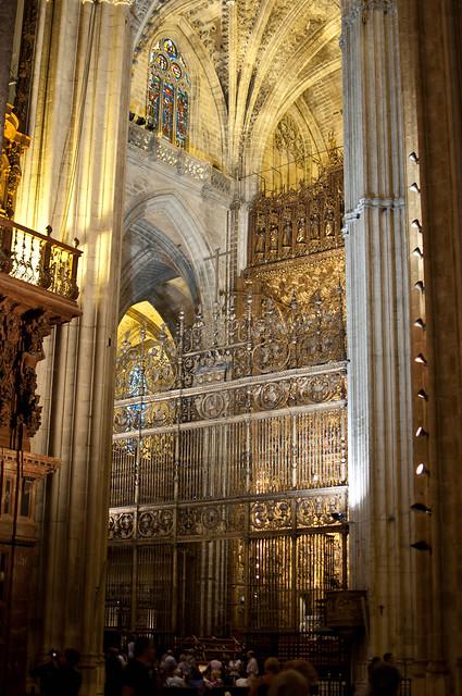 Catedral de sevilla interior de la catedral de sevilla - Catedral de sevilla interior ...