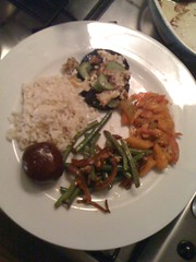 Rice diet, Veggie plate inspired by Alicia Silverstone\'s The …