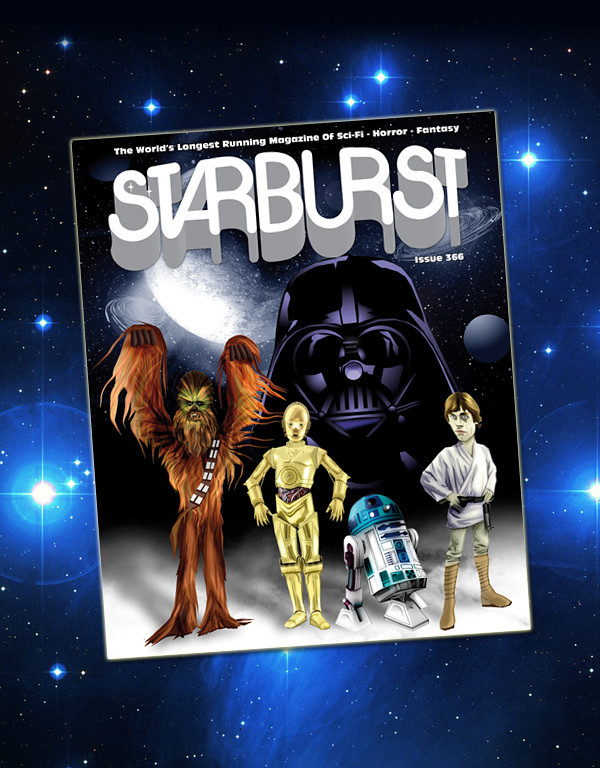 Starburst Magazine: Star Wars Cover