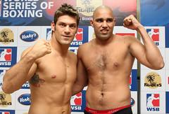 10/11/2011 Weigh-In Mumbai Fighters vs Dolce Gabbana Milano Thunder