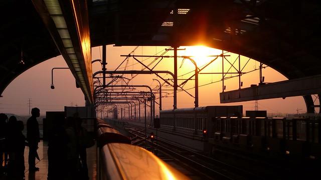 Shanghai - Metro Sunset