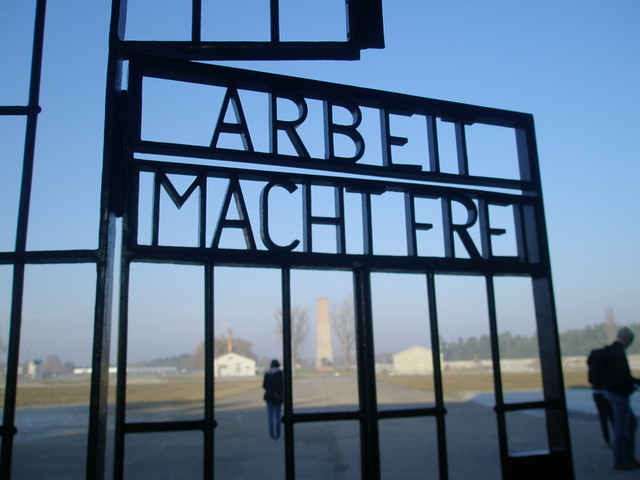 Gate into the Sachsenhausen Concentration Camp