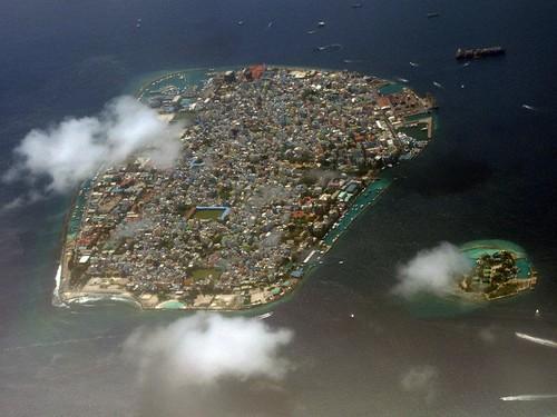 馬爾地夫80%的國土海拔不足1米。圖片來源:Commonwealth Secretariat