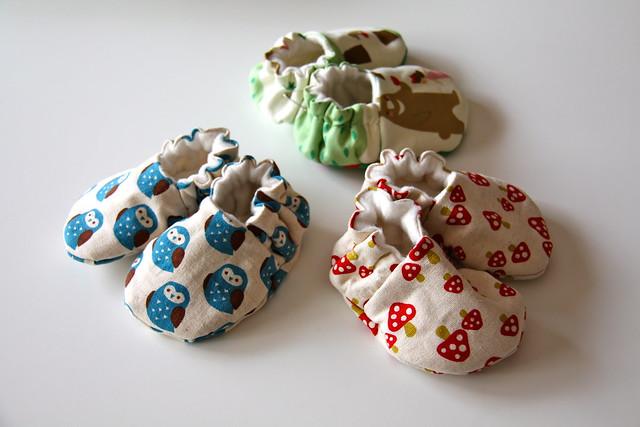 babuchas de bebé