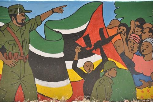Mural in Mocimboa