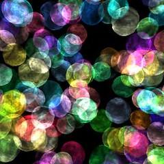 a bolas de colores
