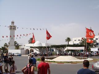 Площадь в Махдии // Square in Mahdia