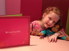 Tea at the American Girl Store by PrincessKaryn