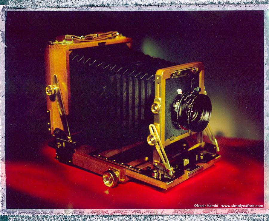 Wista field 5x4 camera