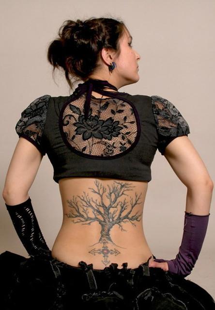 Interesting Tree Tattoos
