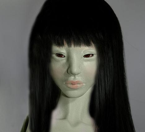 · A p o · D o l l ·   Lotus (1/3 tête asiatique) - Makeup!! 6391499323_3611438ebb