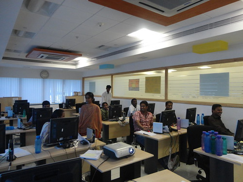TRG-Atos India SAP Education training session in progress by Atos India SAP Education