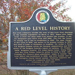 Red Level Historic Marker