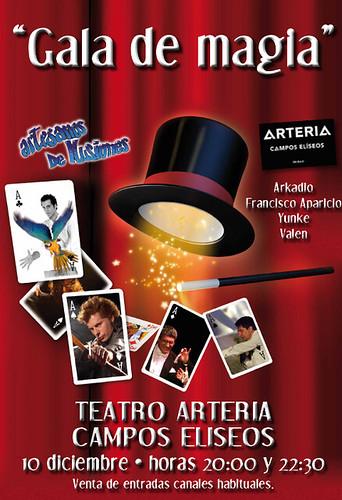 GALA MAGIA 10 DICIEMBRE 2011 Bilbao by LaVisitaComunicacion