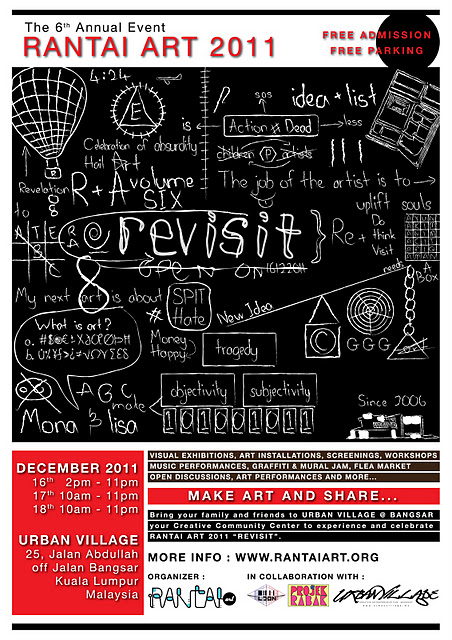 Rantai Art 2011 event